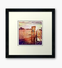 Headin' for Home Framed Print