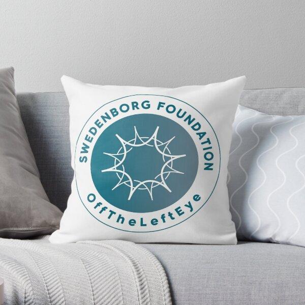 offTheLeftEye logo 1 Throw Pillow