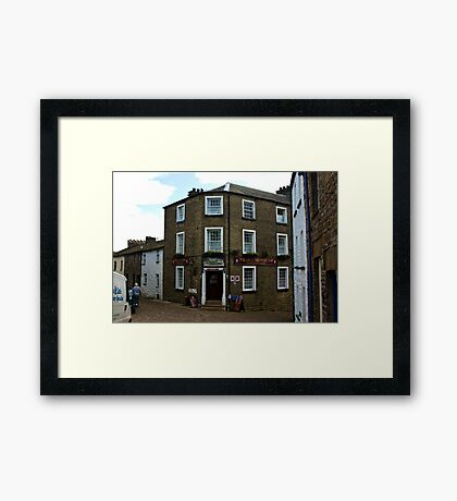 The George and Dragon Inn - Dent Framed Print