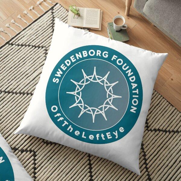 offTheLeftEye logo 2 Floor Pillow