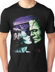 Bride & Frankie Monsters in Love Unisex T-Shirt