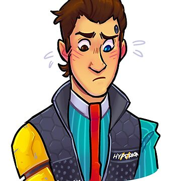 Nervous Rhys Tales From The Borderlands Rhys Tftbl Inspired  by lutnik