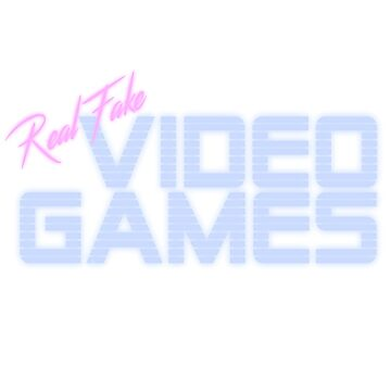 Real Fake Video Games Logo by FakeVideoGames