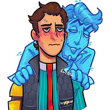 Rhys and Handsome Jack Rhack Tales From The Borderlands Inspired Design by lutnik