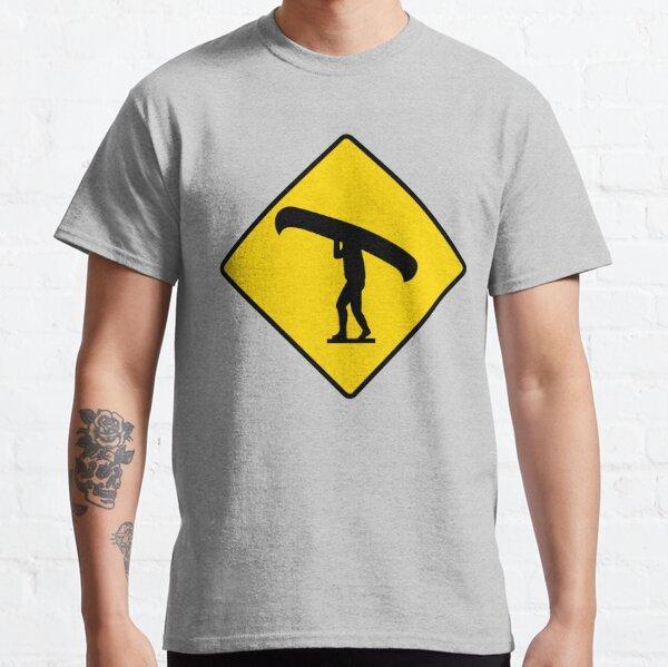 Canoe / Portage Symbol Classic T-Shirt