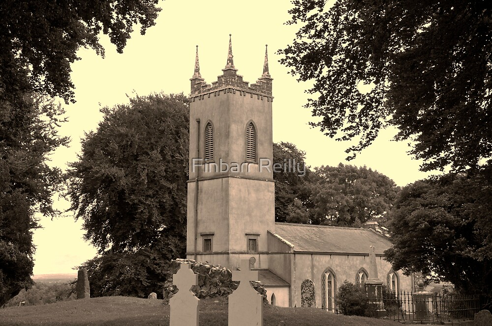 St Patricks Church, Hill of Tara. by Finbarr Reilly