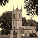 St Patricks Church, Hill of Tara. by Finbarr Reilly