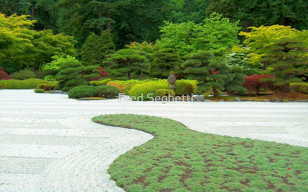 Japanese Garden 3 by Fred Seghetti