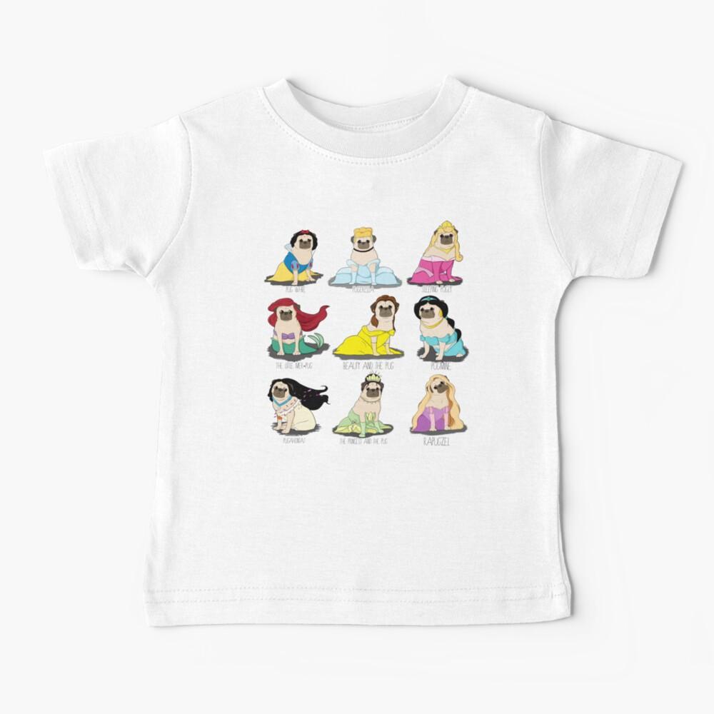 Pug Princesses Baby T-Shirt