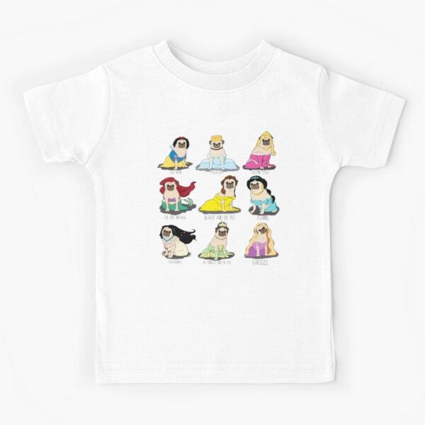 Pug Princesses Kids T-Shirt