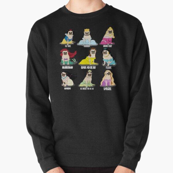Pug Princesses Pullover Sweatshirt