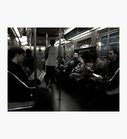 New York Underground Photographic Print