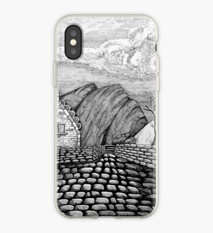 271 - STYLISED CREGNEASH VIEW - DAVE EDWARDS - INK - 2018 iPhone Case