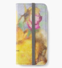 The Last Rose of Summer iPhone Wallet/Case/Skin