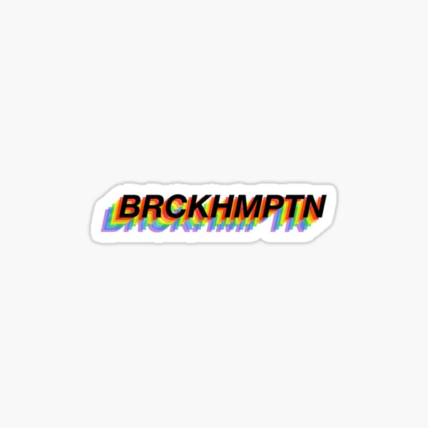 BRCKHMPTN Sticker