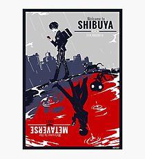 Shibuya/Metaverse Photographic Print