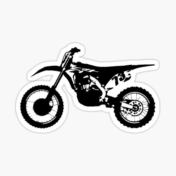 Dirt Bike 73 Sticker