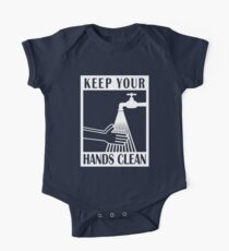 Keep your hands clean One Piece - Short Sleeve