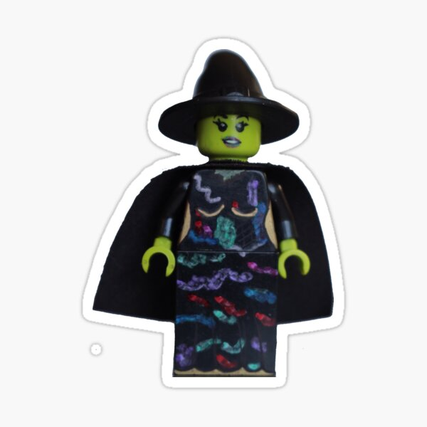 Elphaba - Wicked - Broadway Bricks  Sticker
