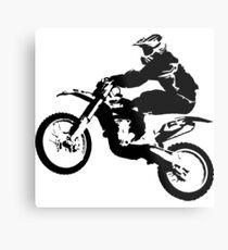 Dirt Bike cool Metal Print
