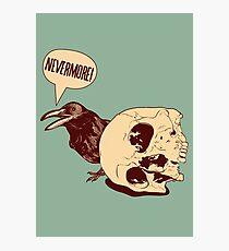 Nevermore EDPOE Photographic Print