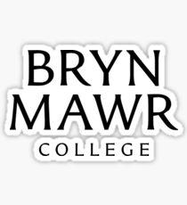Bryn Mawr College Sticker