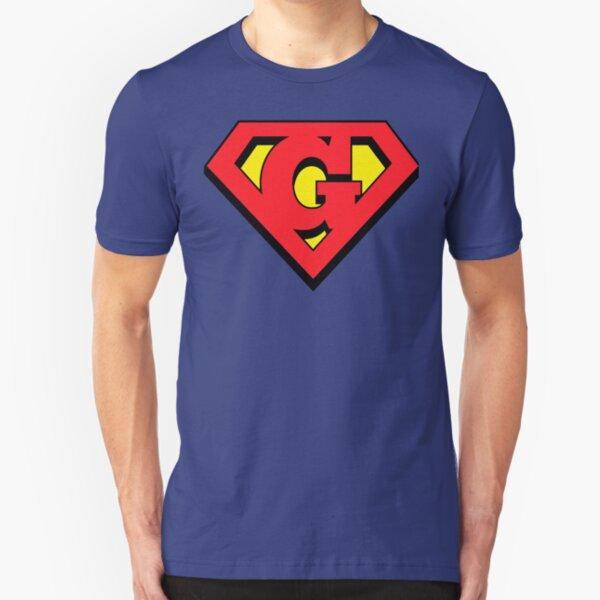 Supergirl Logo Glare Premium Adult Slim Fit T Shirt Shirts Clothing