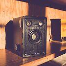Vintage Brownie Target Six-16 Black Box Camera by brotbackgeraet
