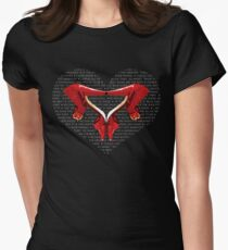 Shoe Mania Womens Fitted T-Shirt