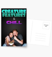 Creature Features & Chill Postcards