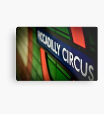 Piccadilly Circus Line Metal Print