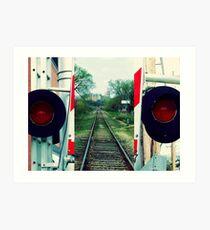 Infamous Railroad Diptych Art Print