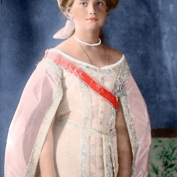 Maria Romanov - 1911 Colorized by Laurynsworld