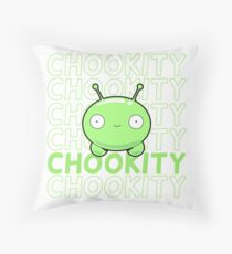 Mooncake Chookity - FinalSpace Throw Pillow