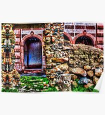 Behind The Wall Fine Art Print Poster