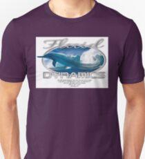 fluid dynamics logo Unisex T-Shirt