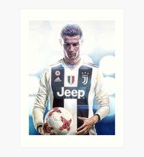 CR7 To Juventus Art Print