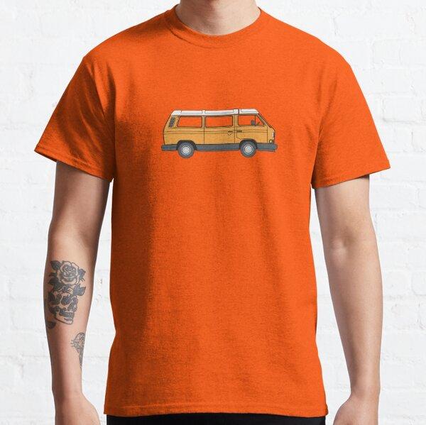The Orange Vanagon Classic T-Shirt
