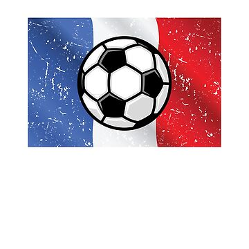 France 2018 Soccer Shirt French Flag t-shirt by worksaheart