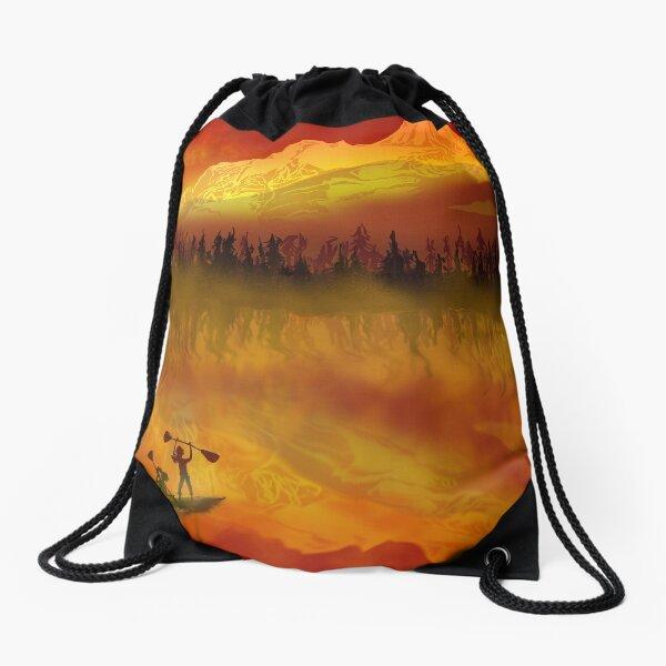 Kayak Victory Drawstring Bag