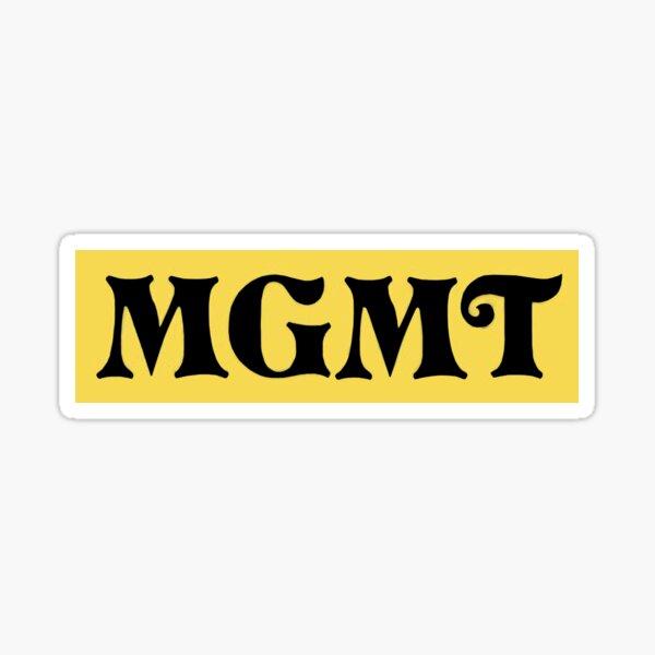 MGMT Little Dark Age logo Sticker