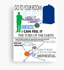 Ninth Doctor was Fantastic Canvas Print