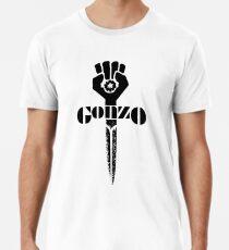 Jäger Thompson Gonzo Schwert Männer Premium T-Shirts