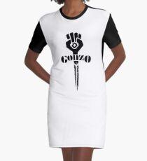 hunter s thompson gonzo sword Graphic T-Shirt Dress