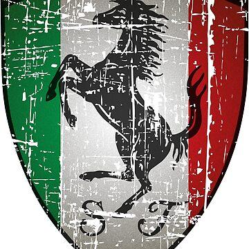 ferrari by CUTOCARS