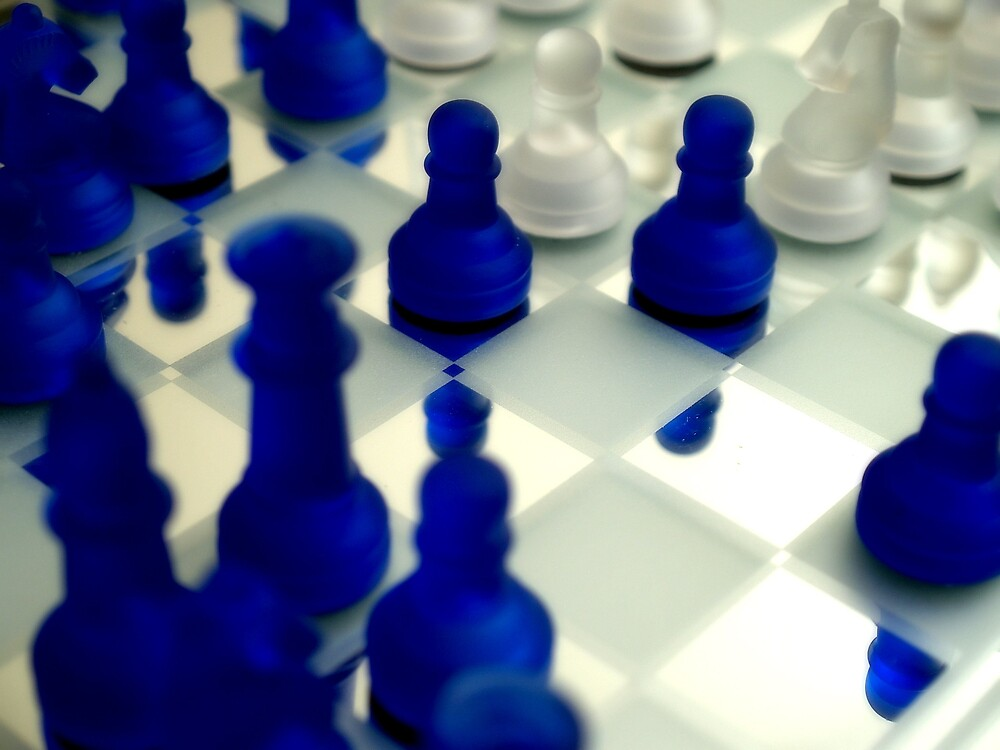 Let's play chess by Acia Lo