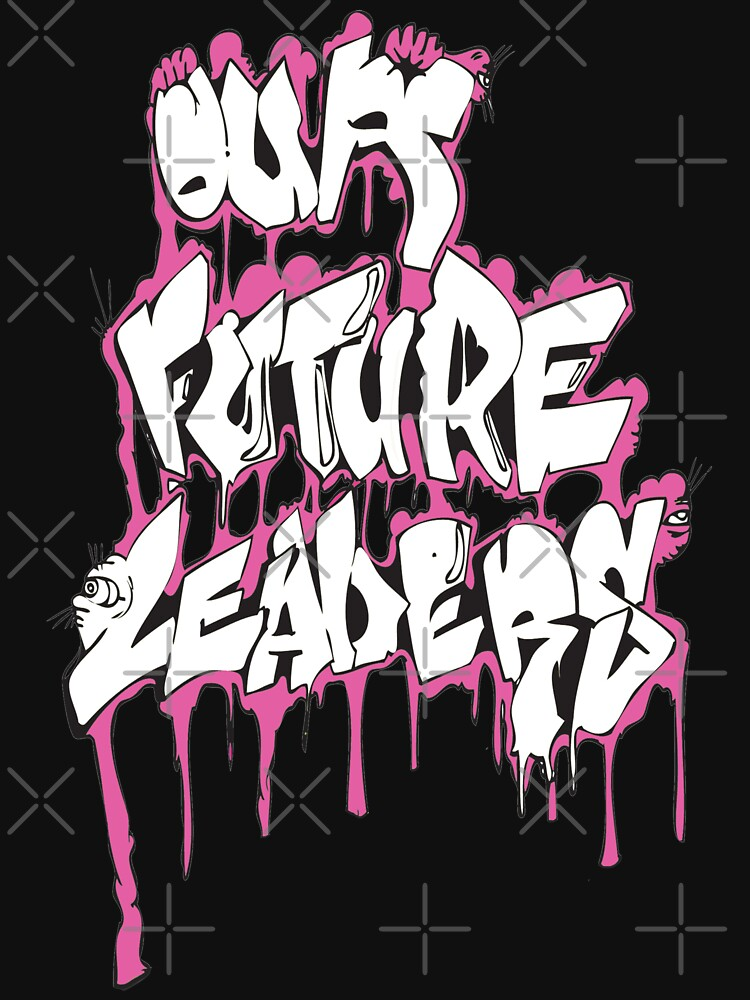 Our Future Leaders Graffiti Pink by ourfutureleadrs