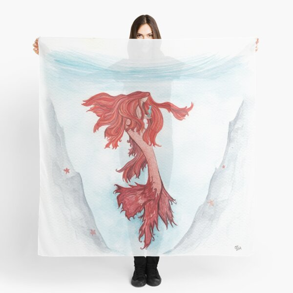 Undine and the Seahorse Scarf
