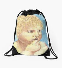 Angel Baby Drawstring Bag