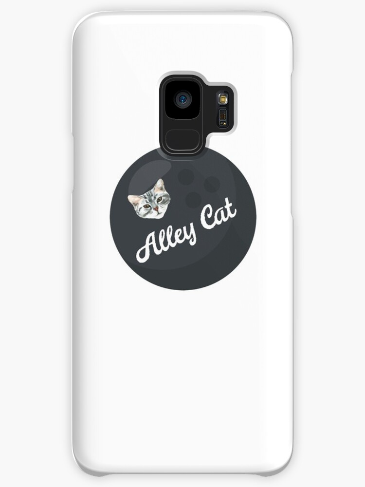 Alley Cat Funny Bowling Design by spinningvisions